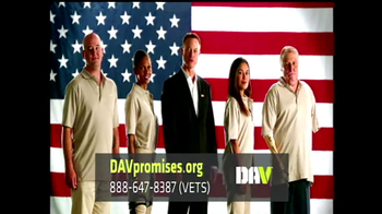 Disabled American Veterans TV Spot, 'Promises'  Featuring Gary Sinise - 80 commercial airings