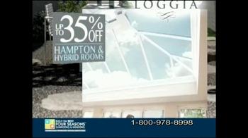 Four Seasons Sunrooms Loggia TV Spot - Thumbnail 6