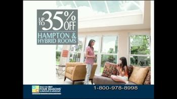 Four Seasons Sunrooms Loggia TV Spot - Thumbnail 7