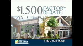 Four Seasons Sunrooms Loggia TV Spot