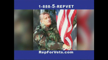 The Rep for Vets TV Spot, 'Don't Let Them Scare You'