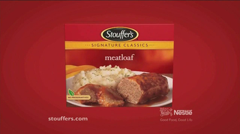Stouffer's Signature Classics Meatloaf TV Spot - Thumbnail 8