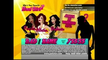 Jamster TV Spot, 'Who's Your Favorite Bad Girl?' - Thumbnail 4