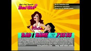 Jamster TV Spot, 'Who's Your Favorite Bad Girl?' - Thumbnail 1