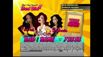 Jamster TV Spot, 'Who's Your Favorite Bad Girl?' - Thumbnail 2
