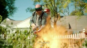 Preen Weed Preventer TV Spot, 'Flame Thrower'