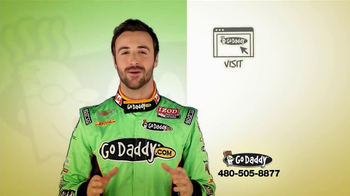 Go Daddy TV Spot, Featuring James Hinchcliffe - Thumbnail 7