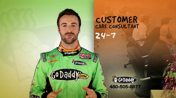 Go Daddy TV Spot, Featuring James Hinchcliffe