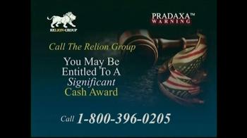 Relion Group TV Spot, 'Pradaxa Warning' - Thumbnail 5