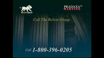 Relion Group TV Spot, 'Pradaxa Warning' - Thumbnail 6