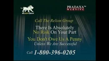 Relion Group TV Spot, 'Pradaxa Warning' - Thumbnail 8