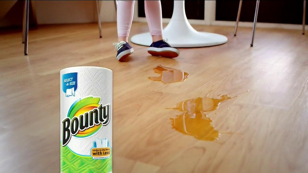 Bounty Select-A-Size TV Commercial, 'One More Step'