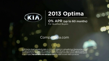 2013 Kia Optima TV Spot, 'Keeping Score' - Thumbnail 10