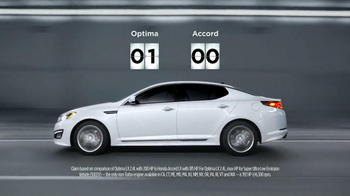 2013 Kia Optima TV Spot, 'Keeping Score' - Thumbnail 4