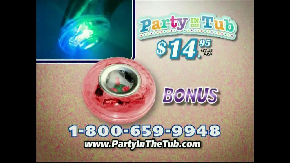 Party in the Tub TV Spot - iSpot.tv