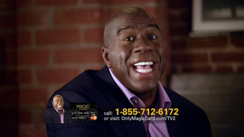 Magic Card TV Spot Featuring Magic Johnson - 129 commercial airings