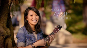 ACUVUE 1-Day Contest TV Spot, \'One Day\' Featuring Joe Jonas, Demi Lovato