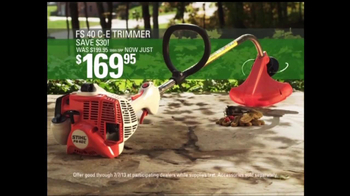 STIHL Trimmers and Chainsaws TV Spot, 'Dependable & Hardworking' - Thumbnail 5