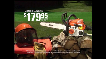 STIHL Trimmers and Chainsaws TV Spot, 'Dependable & Hardworking' - Thumbnail 7