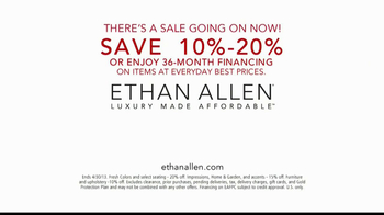 Ethan Allen TV Spot, 'Fashion and Style' - Thumbnail 7
