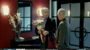 Mitsubishi Electric TV Spot, 'Man-Bag' Featuring Fred Couples - Thumbnail 4