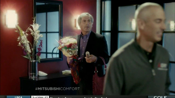 Mitsubishi Electric TV Spot, 'Man-Bag' Featuring Fred Couples - Thumbnail 5