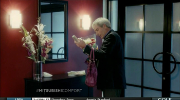 Mitsubishi Electric TV Spot, 'Man-Bag' Featuring Fred Couples - Thumbnail 6