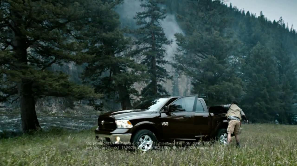 2013 Ram Outdoorsman TV Commercial, 'Conquest' Original Song by White Stripes