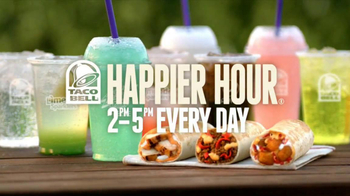 Taco Bell Happier Hour TV Spot, 'Get Started' Song by Hacienda - Thumbnail 5