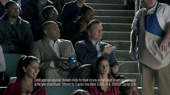 Capital One Venture TV Spot, 'Charm' Ft. Alec Baldwin, Charles Barkley  - Thumbnail 8