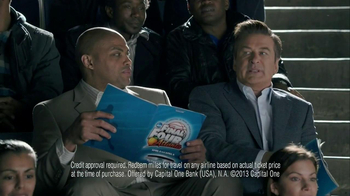 Capital One Venture TV Spot, 'Charm' Ft. Alec Baldwin, Charles Barkley  - Thumbnail 9