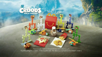 McDonald's Happy Meal TV Spot, 'The Croods' - Thumbnail 10