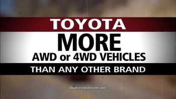 Toyota AWD and 4WD TV Spot