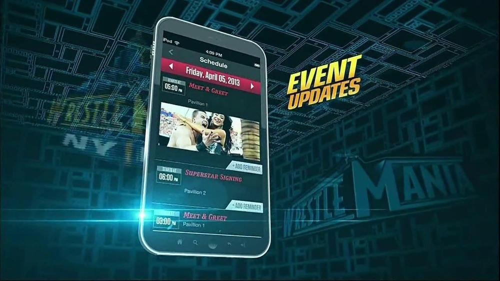 WWE W App TV Commercial - Video