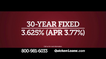 Quicken Loans TV Spot, 'Low Mortgage Rate' - Thumbnail 4