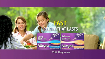 Allegra Anti-Itch Cream TV Spot