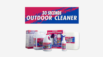 30 Seconds Outdoor Cleaner TV Spot - Thumbnail 4