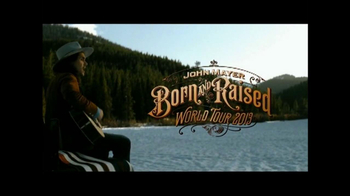 John Mayer Born and Raised Tour TV Spot