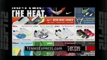 Tennis Express TV Spot, 'Tennis Shoes'