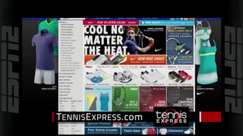 Tennis Express TV Spot, 'Nike Gear'