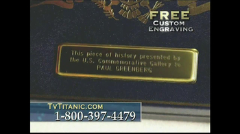 The United States Commemorative Gallery TV Spot, 'Titanic Anniversary' - Thumbnail 10