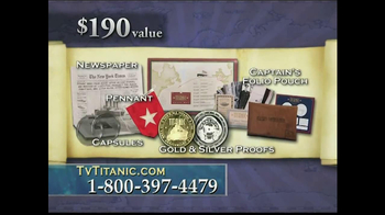 The United States Commemorative Gallery TV Spot, 'Titanic Anniversary' - Thumbnail 9