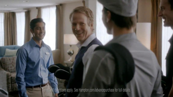 Hampton Inn & Suites TV Spot, 'Weekend Suit' - Thumbnail 6