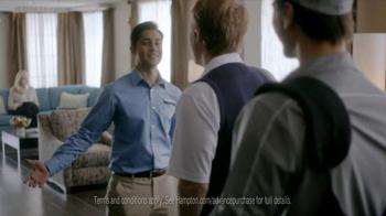 Hampton Inn & Suites TV Spot, 'Weekend Suit' - Thumbnail 7