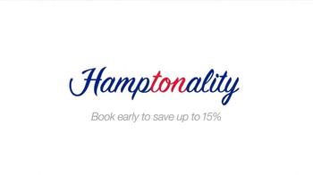 Hampton Inn & Suites TV Spot, 'Weekend Suit' - Thumbnail 9