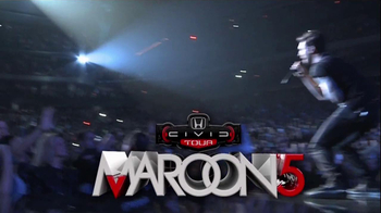 Honda Civic Tour: Maroon 5 TV Spot