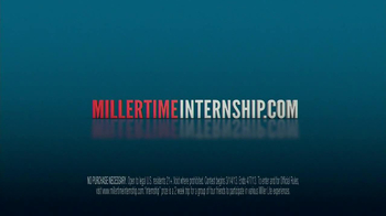 Miller Lite Miller Time Internship TV Spot - Thumbnail 7