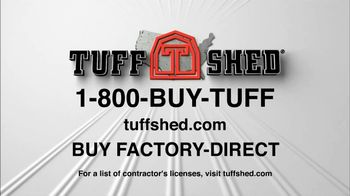 Tuff Shed TV Spot, 'Options' - Thumbnail 6
