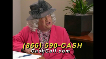 Cash Call TV Spot, \'Banker\'s Mom\'