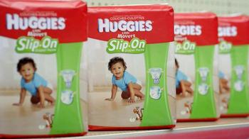 Huggies Slip-On TV Spot, 'Diaper Aisle Fitting Room' - Thumbnail 1